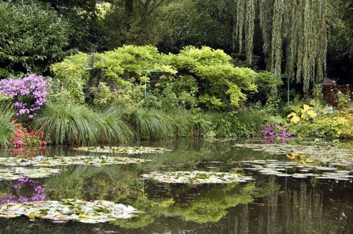Claude Monet's lily pond, Giverny, France