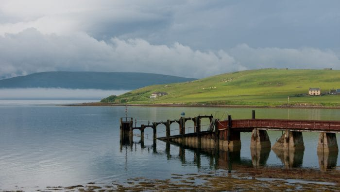 Blockship Tabarka, Scapa Flow, Scotland
