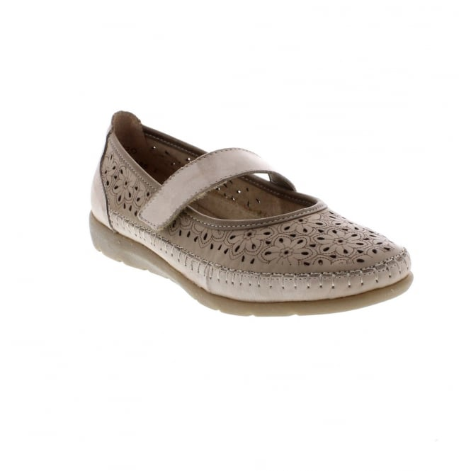 Remonte D1906-60 Ladies beige ' soft shoes