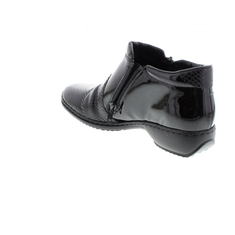 l3892 01 black shoe from rieker uk