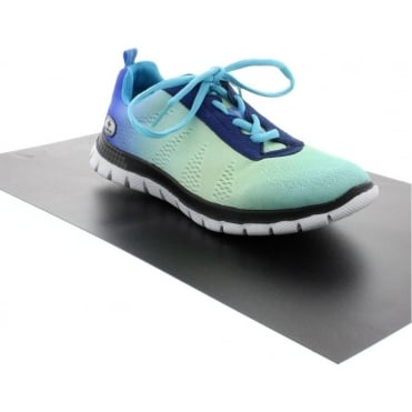 L5600-10 Ladies Blue Lace Up