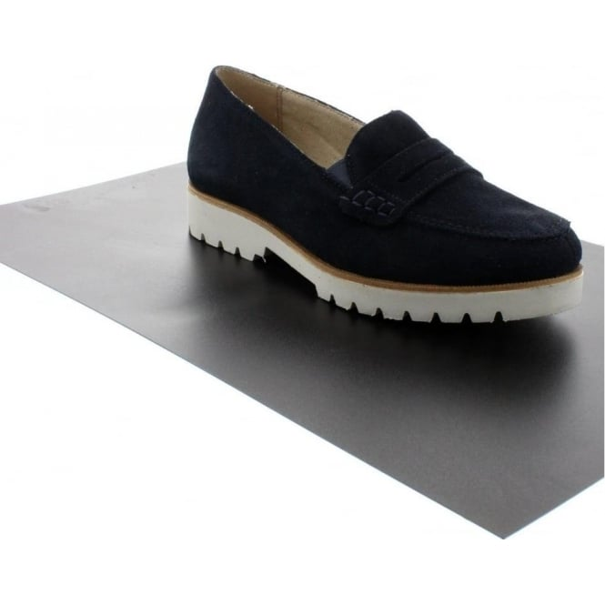 Remonte D0101-14 Ladies Blue Slip on shoes