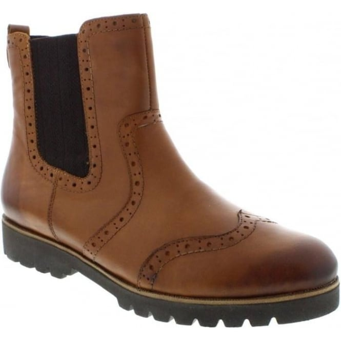 Remonte D0174-24 Ladies Brown Zip ankleboots