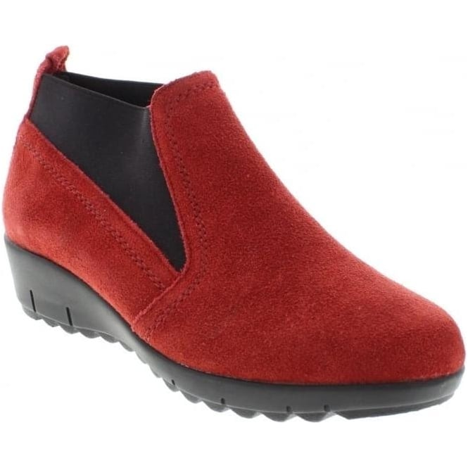 Remonte D0270-33 Ladies Red Slip on