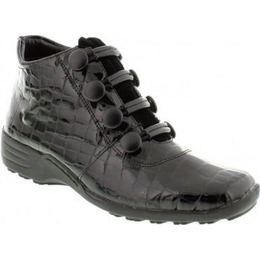 Remonte D0580-01 Black boot