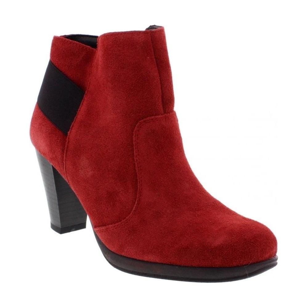 fbe66258ea70 Remonte D0979-35 Ladies Red Combination Zip - Remonte Ladies from Rieker UK