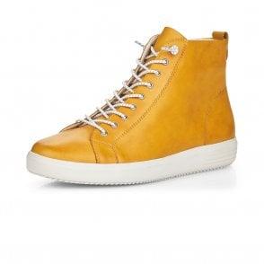 Black D5273-15 Remonte Womens Lace Up Ankle Sneaker Shoe Bootie
