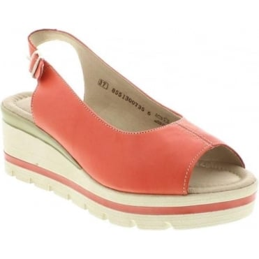 Remonte D1557-33 Red sandal