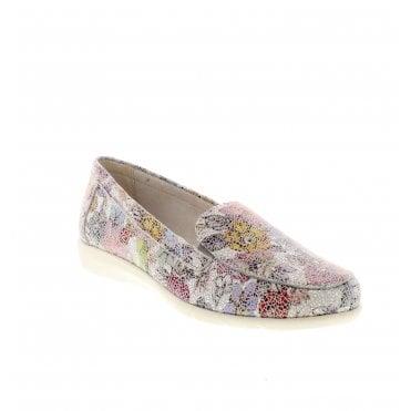 9b2a7713 D1919-90 Ladies Multi Colour Slip On Shoes Sale. Remonte ...
