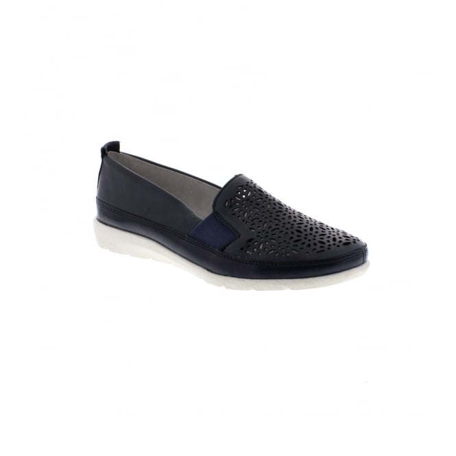 Remonte D1922-14 Ladies' Navy Blue Slip on shoes