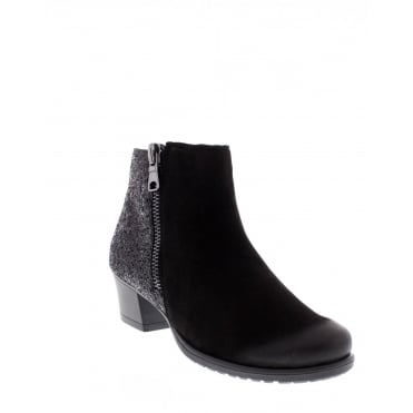 Remonte D3187-02 Womens black Ankle Boot