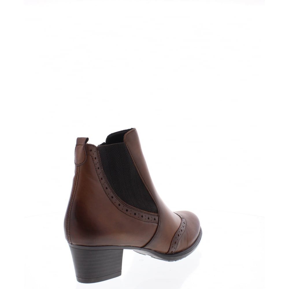 remonte d3188 24 womens brown ankle boot remonte from