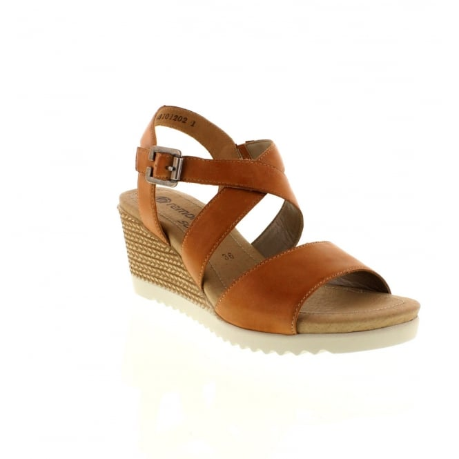 Remonte D3452-20 Ladies Brown Combination Buckle sandals