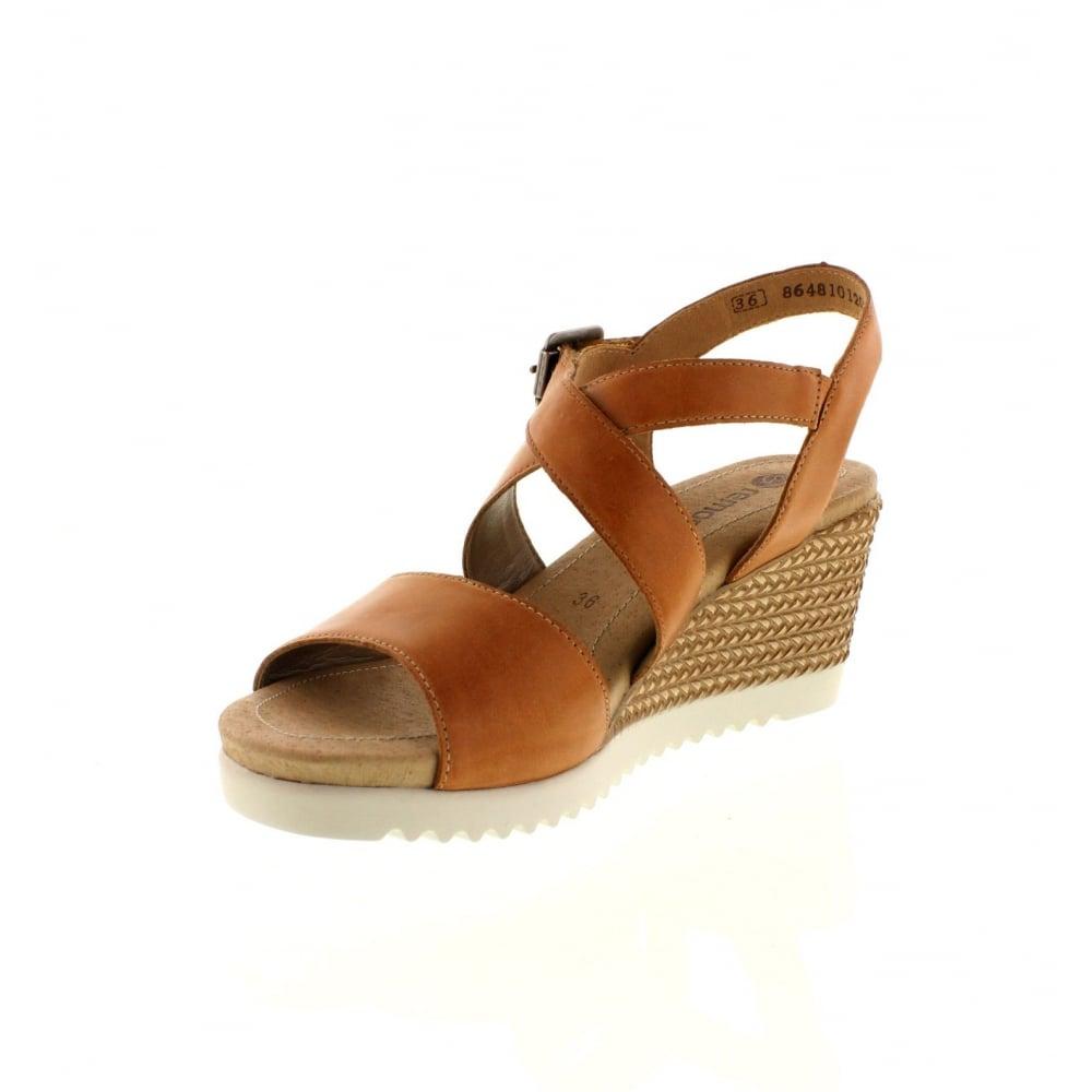 REMONTE Remonte Womens Sandal D3452 Tan 41 f54aUIs