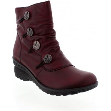 Remonte D4070-35 Red boot