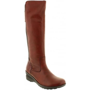 Remonte D4076-35 Red Combination boot