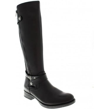 Remonte D4174-01 Black boot