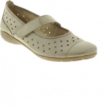 Remonte D4624-42 Ladies Grey Velcro