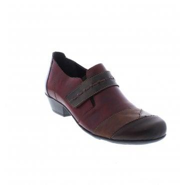Rieker Leder Schuhe Ballerin Damen Gr.41,sehr guter Zustand
