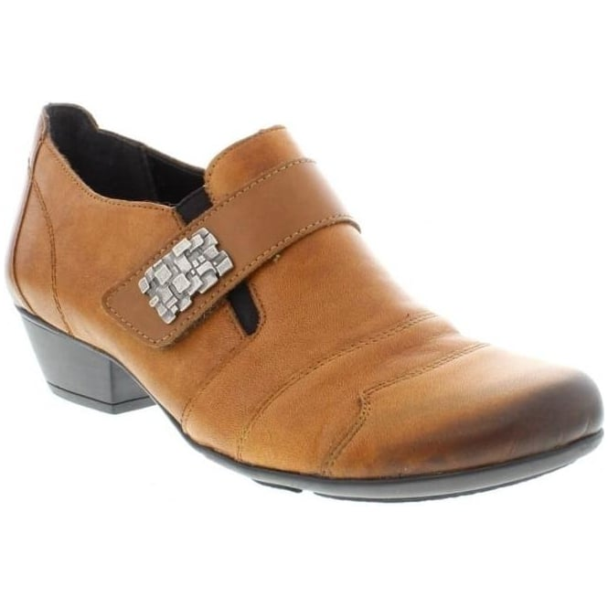 Remonte D7333-24 Ladies Brown hook and loop shoes