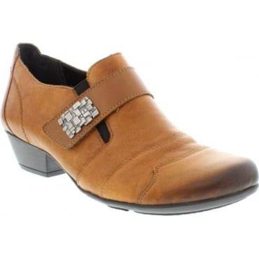 Remonte D7333-24 Ladies Brown Velcro shoes