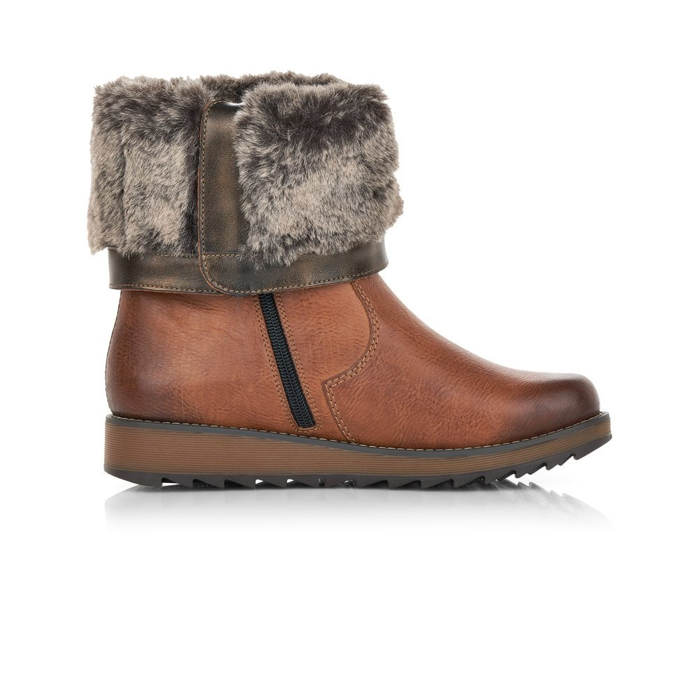 Ladies Remonte All Weather Warmlined Boots *D8874*