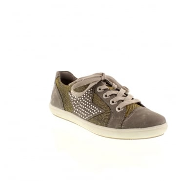 Remonte D9105-42 Ladies Grey Lace shoes
