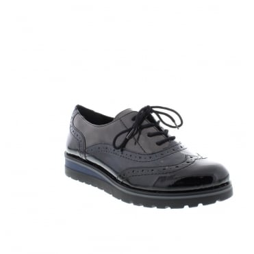Remonte R1901-14 Ladies Blue Lace Up shoes