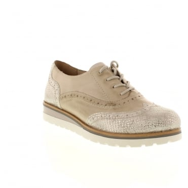 Remonte R1901-40 Ladies Grey Lace shoes