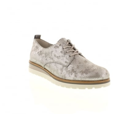 Remonte R1905-42 Ladies Grey Lace shoes