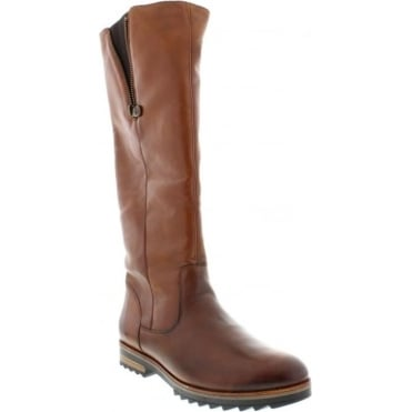 Remonte R2277-24 Ladies Brown Zipper boots