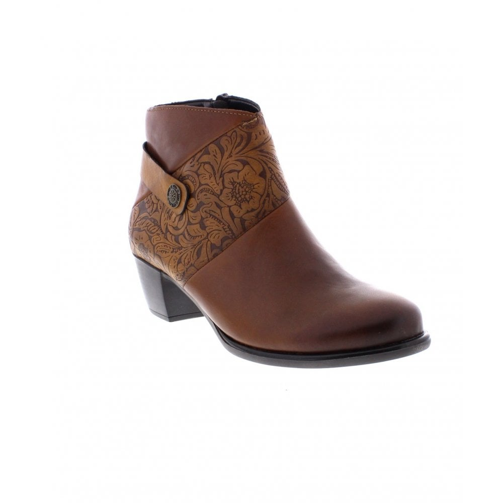 R2677 boots ankle Remonte Ladies Ladies Remonte from Brown 22 Aw6Oq7Od