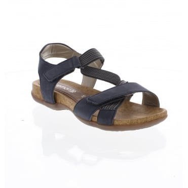 R3257-14 Ladies' Blue combination sandals
