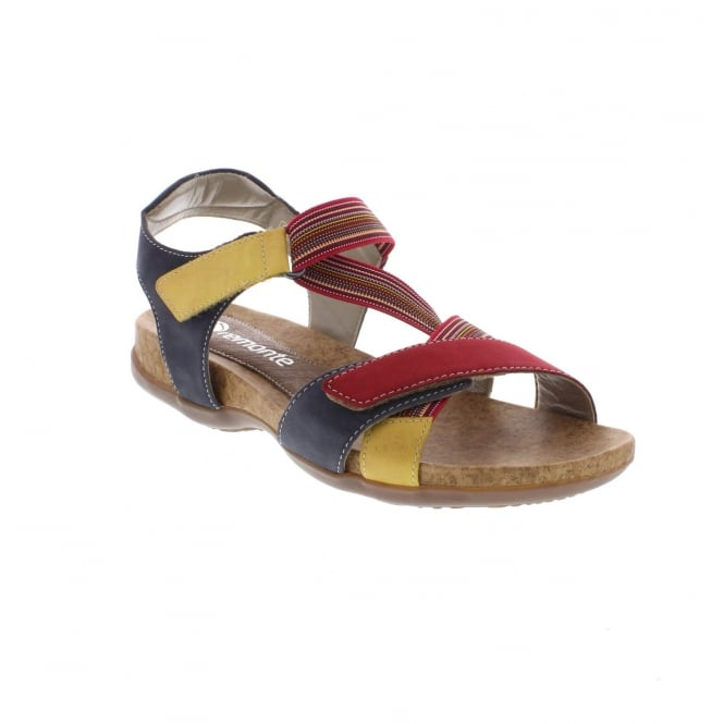 Remonte R3257-33 Multi Colour Ladies' sandals