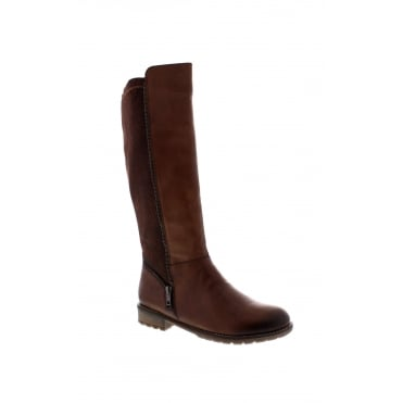 Remonte R3325-25 Womens brown long leg boot