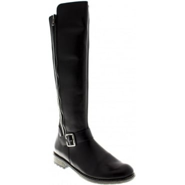 Remonte R3358-01 Ladies Black boots