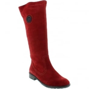 Remonte R3388-14 Red boot