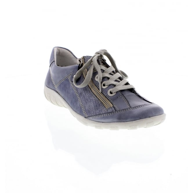 Remonte R3419-16 Ladies blue patchwork casual shoes