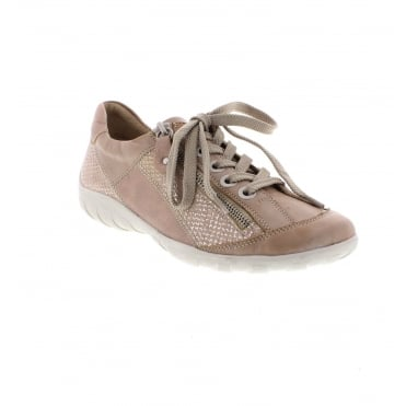 Remonte R3419-31 Ladies Rose Lace Up Shoes
