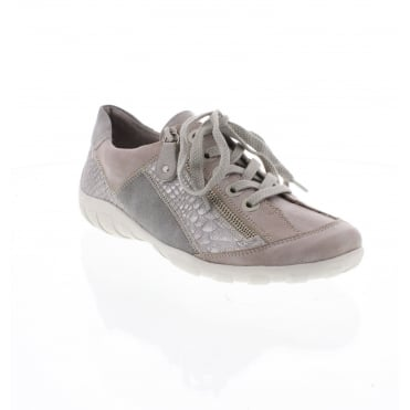 Remonte R3419-80 lLadies' Lace grey combination Ladies' shoes