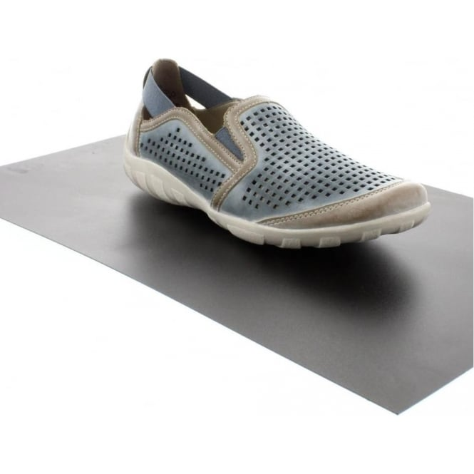 Remonte R3425-14 Ladies Blue Slip on shoes