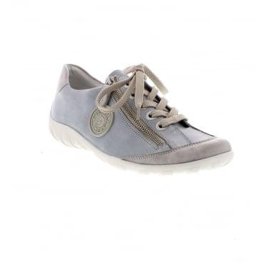 4573102a45ac Remonte R3443-10 Ladies blue combination shoes