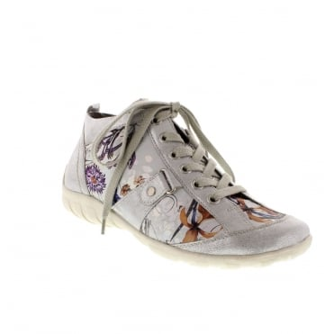 Remonte R3476-90 Multicoloured/Metallic Trainer