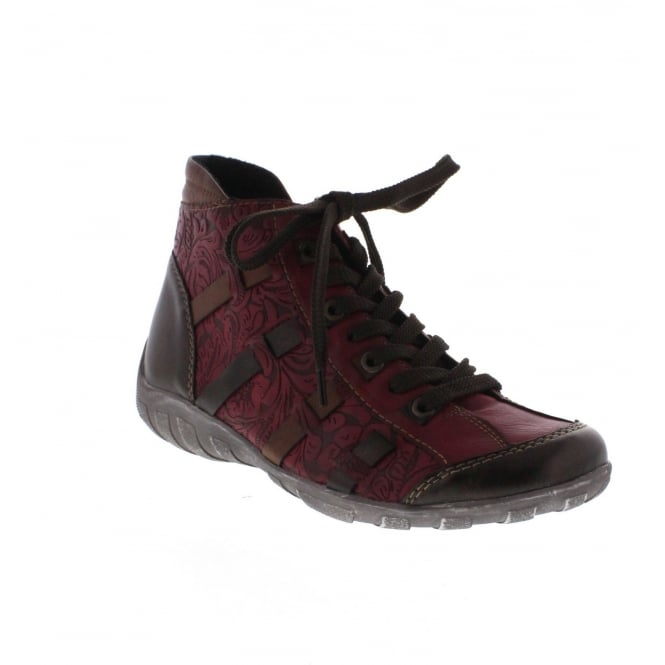 Remonte R3486-35 Womens red combination