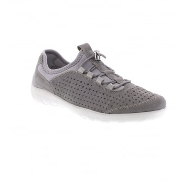 R3500-40 Ladies' Grey slip on shoes