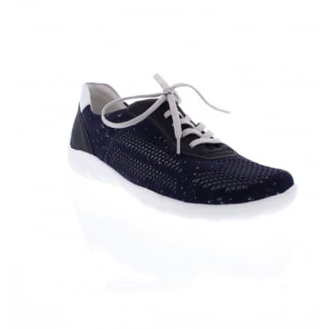 Remonte R3503-14 Ladies blue/silver Ladies' shoes