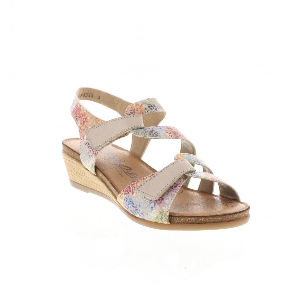 e9c096d7c658 Remonte R4454-91 Ladies Multi Coloured Sandals - Remonte Ladies from ...