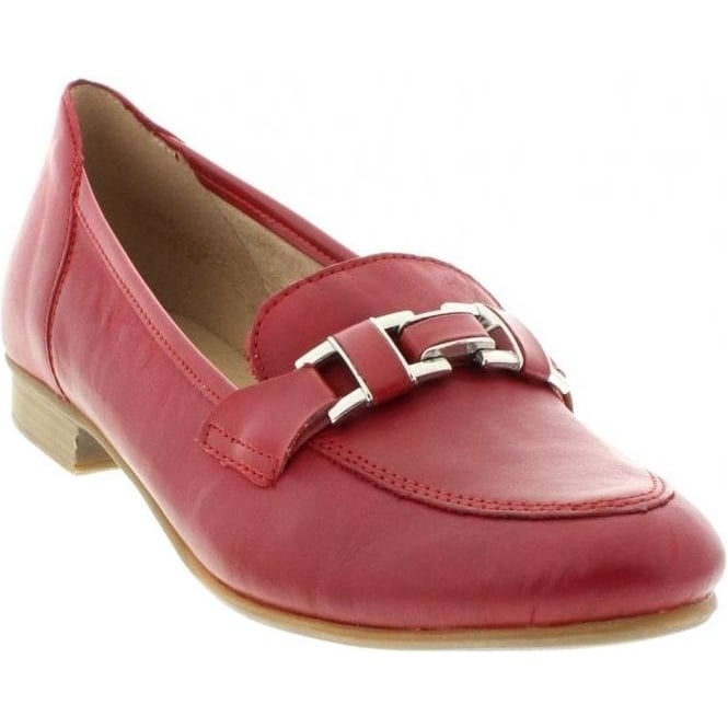 Remonte R4810-33 Ladies Red Slip on