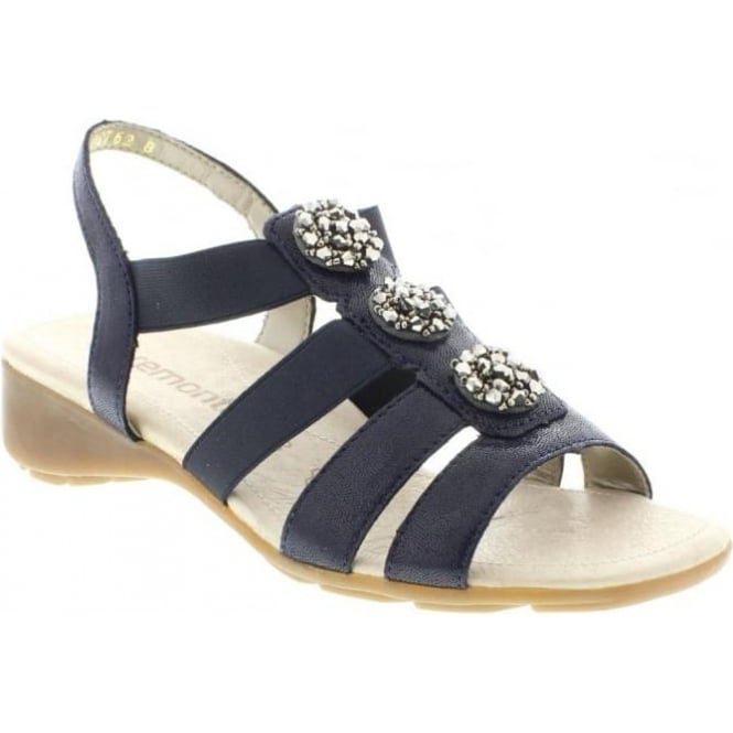 Remonte R5267-14 Ladies Blue Sling Back sandals
