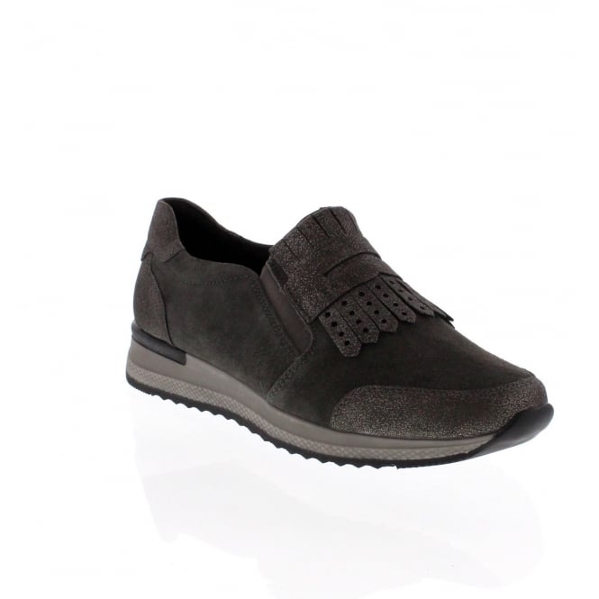 Remonte R7009-42 Womens Grey Combination Shoe